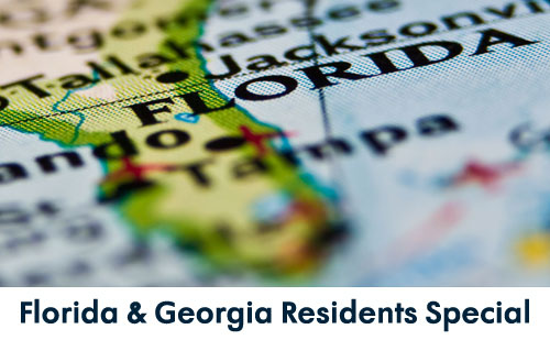 florida and georgia residents specials